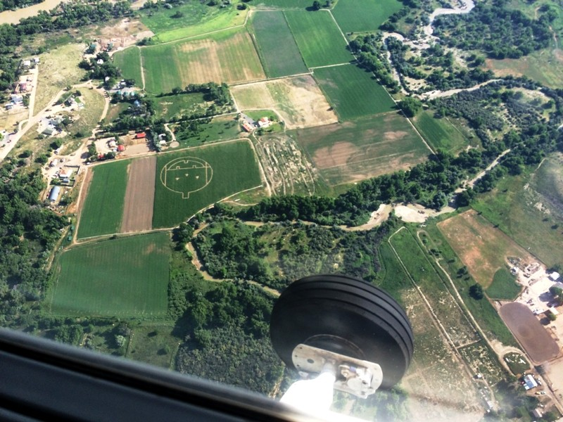 Field from the air